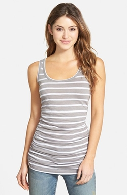 Shirred Side Tank Top by Caslon in Jem and the Holograms