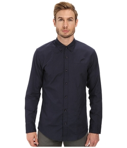 Neil Patchwork Oxford Long Sleeve Shirt by Publish in Daddy's Home