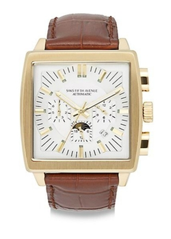 Automatic Chronograph Strap Watch by Saks Fifth Avenue in Side Effects