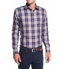 Yorkshire Plaid Sport Shirt by Peter Millar in The Big Bang Theory