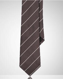 Striped Peau De Soie Tie by Ralph Lauren in Ant-Man