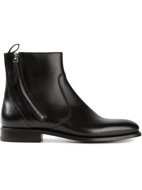 Zipped Ankle Boots by Givenchy in The Man from U.N.C.L.E.