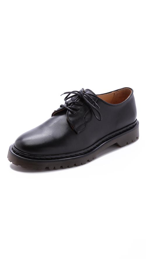 Leather Derby Shoes by A.P.C. in A Walk Among The Tombstones