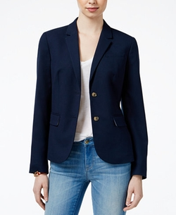 Two-Button Blazer by Tommy Hilfiger in Sleepless