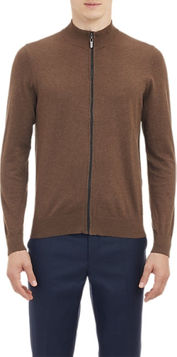 Zip-Front Cardigan by Piattelli in On Her Majesty's Secret Service
