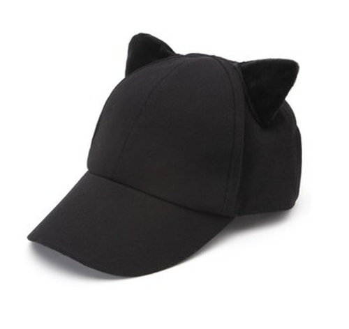 Cat Ear Baseball Hat by Kendall + Kylie in Keeping Up With The Kardashians - Season 12 Episode 9