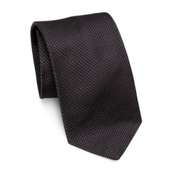 Madison Woven Silk Tie by Polo Ralph Lauren in Billions