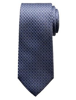 Textured Micro-Paisley Silk Tie by Banana Republic in Suits