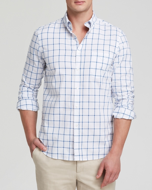 Classic Collegiate Button Down Shirt by Steven Alan in Fantastic Four