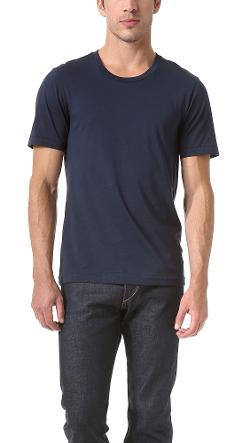 Classic Crew Neck T-Shirt 3 by BLK DNM in Ted