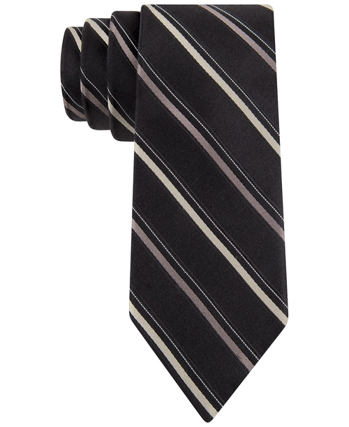 Striped Slim Tie by Michael Michael Kors in Vacation