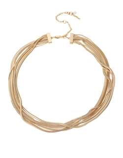 Snake Multi-Chain Necklace by Kenneth Cole New York in Supergirl