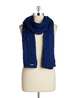 Cable Knit Scarf by Michael Michael Kors in Love the Coopers