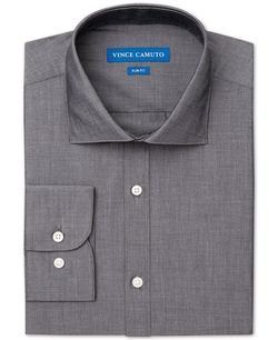 Chambray Solid Dress Shirt by Vince Camuto in Sixteen Candles