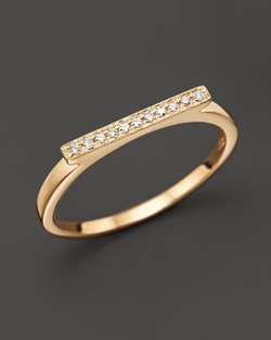 Diamond Sylvie Rose Ring by Dana Rebecca Designs in Suits