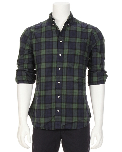 Plaid Button Down Shirt by Gitman Brothers Vintage in Scandal - Season 5 Episode 2