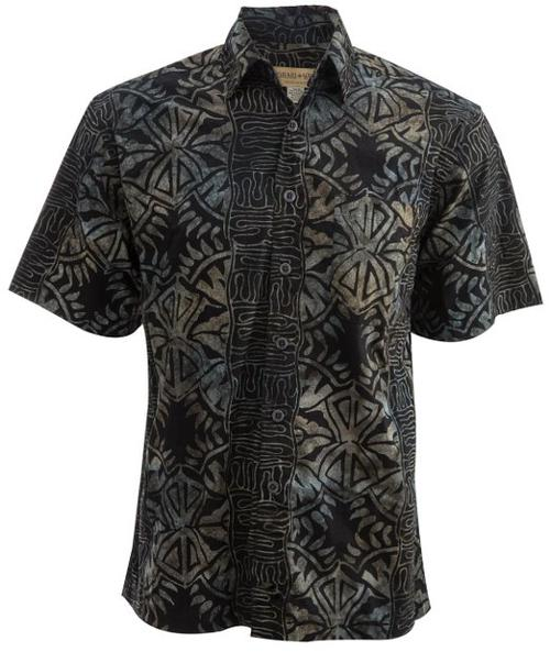 Island Fever Tropical Cotton Shirt By Johari West by Johari West in Couple's Retreat