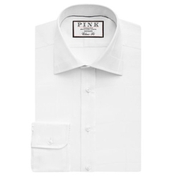 Check Classic Fit Button Cuff Shirt by Gillingham in Bridge of Spies