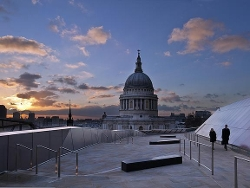 London, England by St Paul's Cathedral in Thor: The Dark World