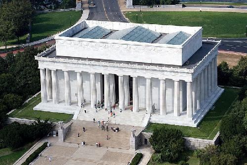 Lincoln Memorial Washington, D.C. in Captain America: The Winter Soldier