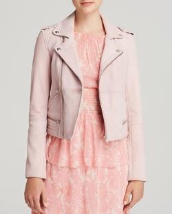 Leather Jacket by Maje  in Pretty Little Liars