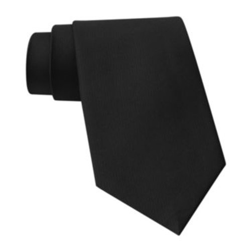 Elegant Solid Tie by Claiborne in Focus