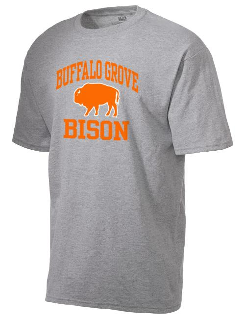 Men's American Classic T-Shirt by Buffalo Grove High School Bison in Couple's Retreat