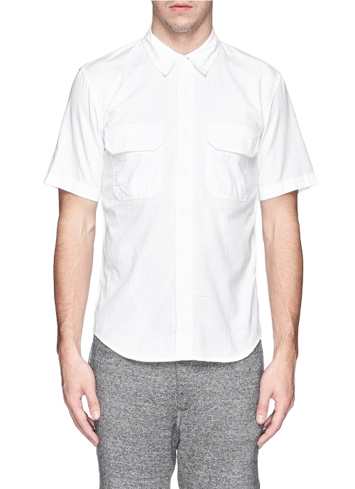 Cotton Twill Officer's Shirt by NLST in Fast Five