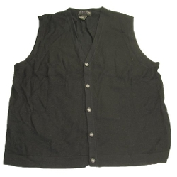 Baruffa Extrafine Merino Wool Sweater Vest by The Men's Store in The Longest Ride