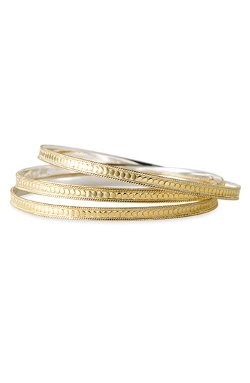 Timor Stacking Skinny Bangles by Anna Beck in Fast & Furious 6