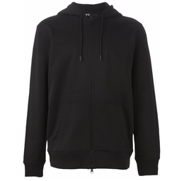 Zipped Hoodie by Y-3 in Billions