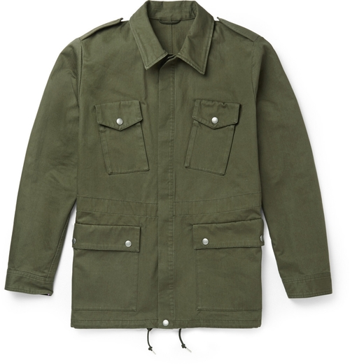 Cotton Field Jacket by A.P.C. in Inherent Vice