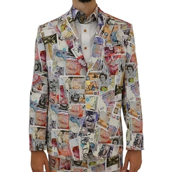 Money Print Jacket by Vivienne Westwood in Empire