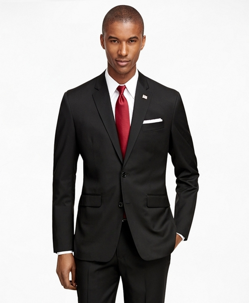 Milano Fit Solid 1818 Suit by Brooks Brothers in Scandal - Season 5 Episode 13