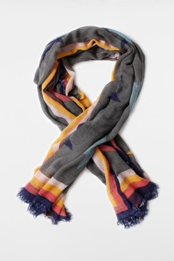 Delta Stars Scarf by Zadig & Voltaire in The Big Short