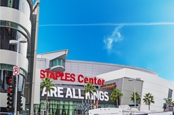 Los Angeles, California by Staples Center in CHIPs