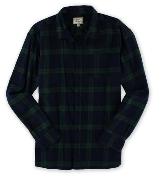 Mens Ls Plaid Y/D Twill Injection Button Up Shirt by Ecko Unltd. in Wish I Was Here