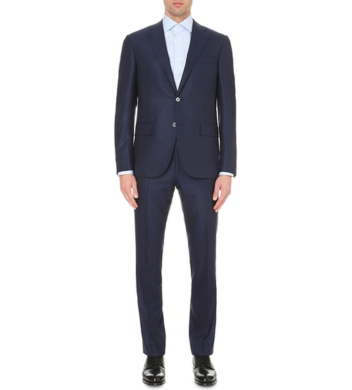 Regular-Fit Wool Suit by Corneliani in Scandal - Season 5 Episode 9