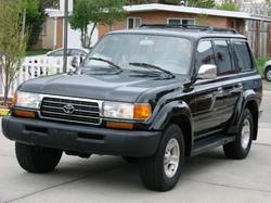 1995 Land Cruiser Base SUV by Toyota in Point Break