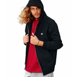 Reverse Weave Full Zip Hoodie by Champion in Keeping Up With The Kardashians
