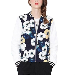 Baseball Bomber Warm Jacket by Your Gallery in Unbreakable Kimmy Schmidt