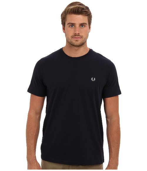 Classic Crew Neck T-Shirt by Fred Perry in The Matrix