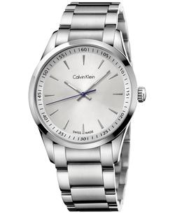 Swiss Stainless Steel Bracelet Watch by Calvin Klein in Legend