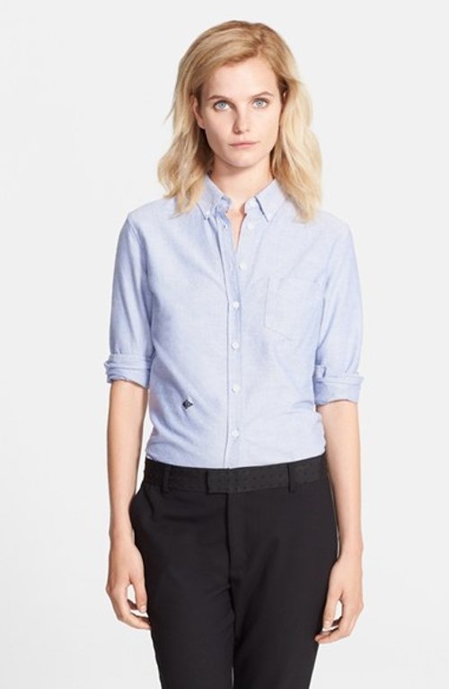 Long Sleeve Oxford Shirt by Band of Outsiders in The Overnight