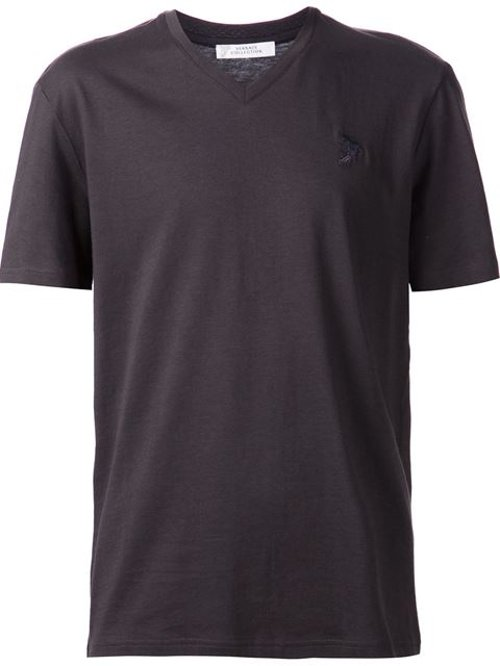 V-Neck T-Shirt by Versace Collection in Begin Again