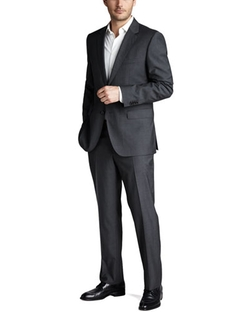 Basic Two-Button Suit by Boss Hugo Boss in Scandal