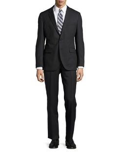 Tonal Stripe Two-Piece Suit by Hugo Boss in Unfinished Business