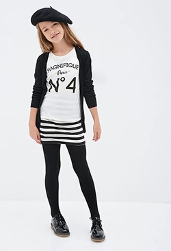 Magnifique Paris Graphic Tee by Forever 21 in Scream Queens