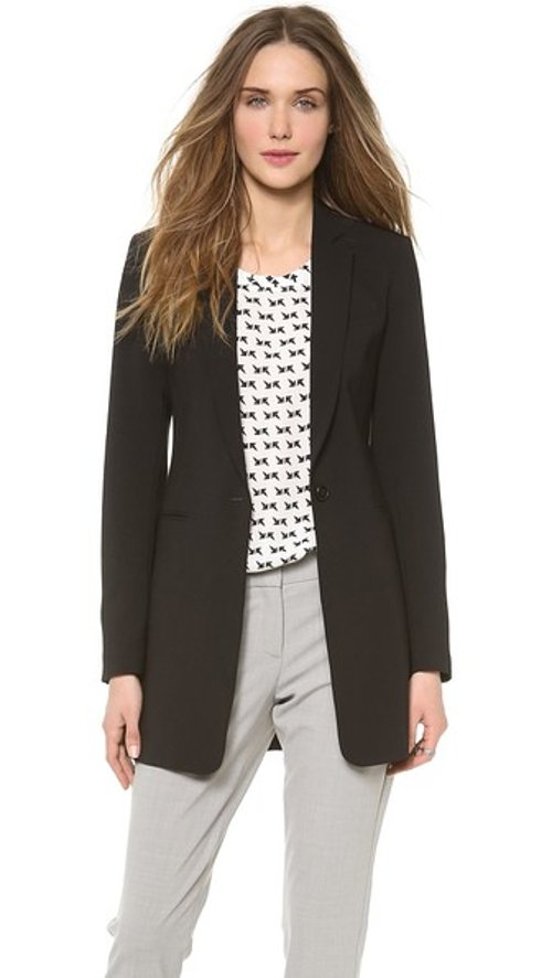 Marcela Blazer by Theory in That Awkward Moment