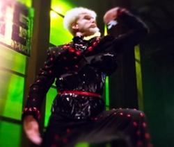 Custom Made Black Embellished Blazer by Leesa Evans (Costume Designer) in Zoolander 2